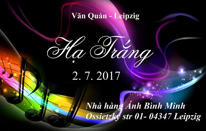 Mời dự Chương trình văn nghệ Hạ Trắng của Văn Quán (02.07.2017)