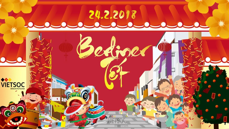 Hội Sinh Viên Việt Nam Berlin - Potsdam mời dự Berliner Tet 2018 - PHIÊN CHỢ TẾT (24.02.2018)