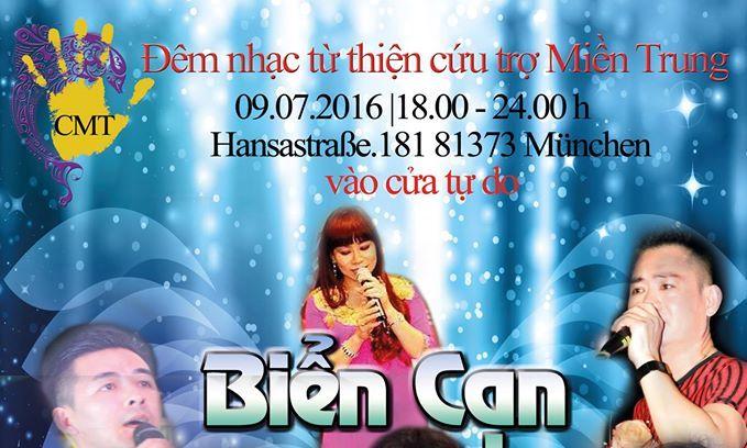 (Trailer) Đêm nhạc từ thiện cứu trợ Miền Trung tại München (09.07.2016)