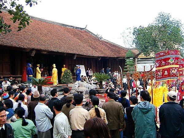 Hội làng Quậy, Đông Anh.