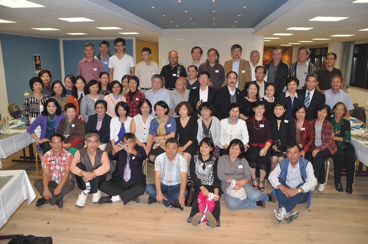 Cuộc gặp mặt mùa Hè 2013 ở Schoeneck Plauen. Ảnh: Nguyễn Kim Thanh