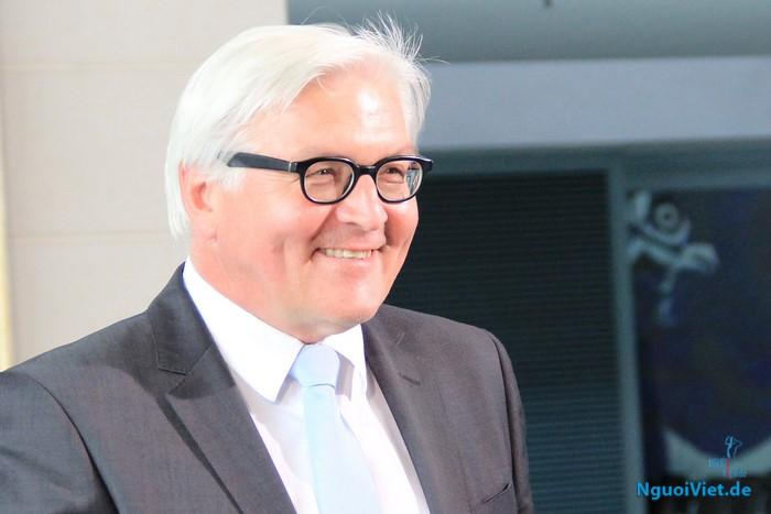 Bộ trưởng Ngoại giao Đức Frank-Walter Steinmeier. Ảnh: Mạnh Hùng