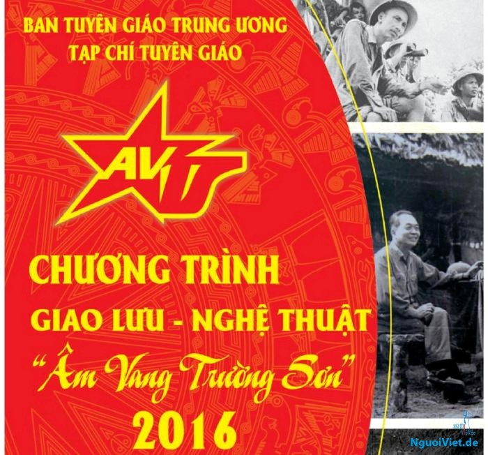 """Chương trình giao lưu nghệ thuật """"Âm Vang Trường Sơn"""" (12.2016)"""