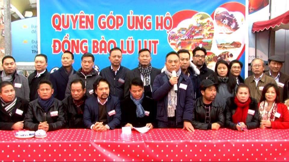 Thư mời họp của BTC cuộc vận động quyên góp ủng hộ đồng bào vùng lũ miền Trung (30.10.2016)