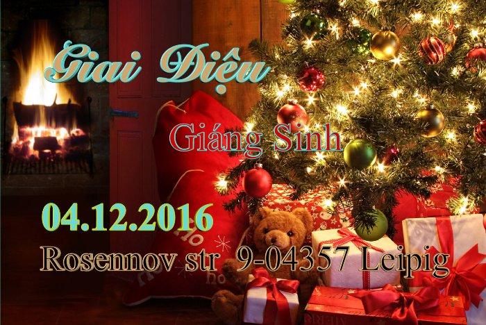 Văn Quán mời tham dự Giai Điệu Giáng Sinh (04.12.2016)