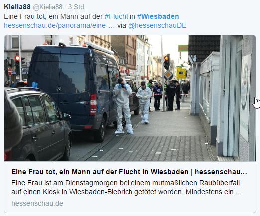 Nổ súng ở  Wiesbaden (CHLB Đức), một người chết, 2 người bị thương