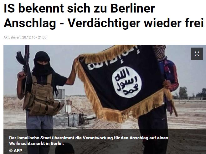 Ảnh chụp màn hình báo Đức tz.de do NguoiViet.de thực hiện.
