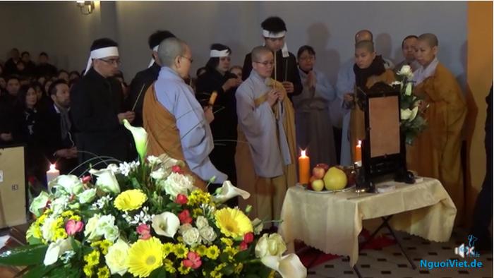 (Video): Tang lễ nhà báo Trần Mạnh Thái