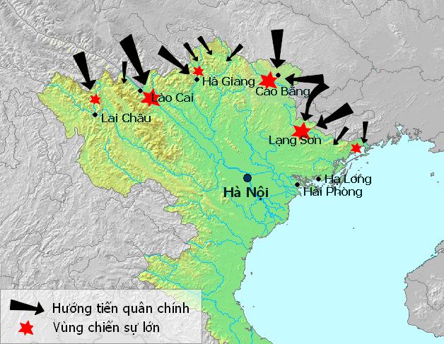 Rạng sáng ngày 17.02.1979, Bắc Kinh bất ngờ ồ ạt xua quân xâm lược 6 tỉnh biên giới phía Bắc.