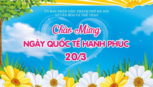 Việt Nam hưởng ứng Ngày Quốc tế Hạnh phúc.