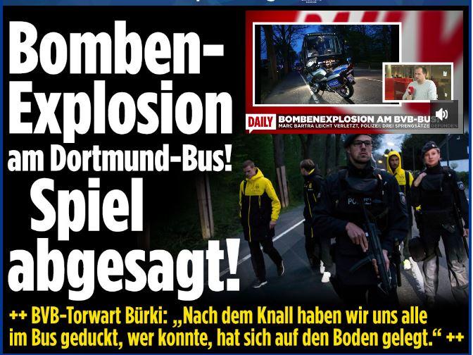 Vụ đánh bom xe bus tại Dortmund, Đức: Thủ đoạn thao túng thị trường?
