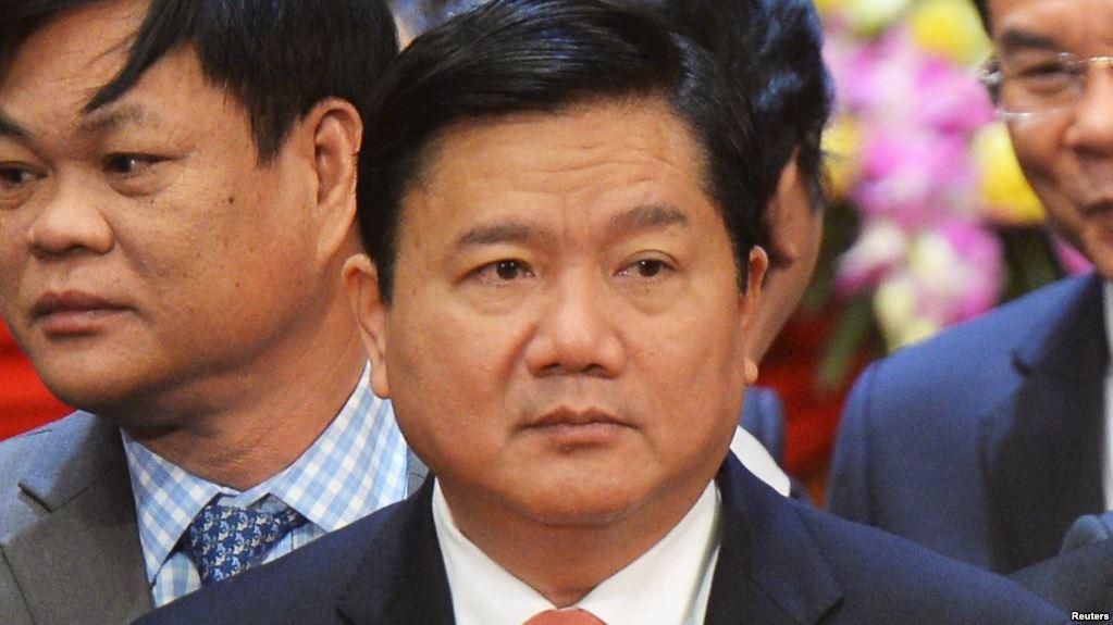 Bí thư Thành ủy thành phố Hồ Chí Minh Đinh La Thăng. (Ảnh tư liệu)
