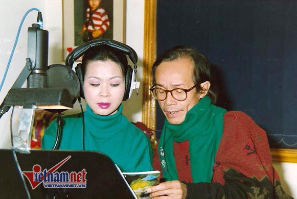 """Trịnh Công Sơn và """"người tình âm nhạc"""" Khánh Ly. Ảnh: VNN"""