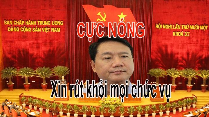 (Video) Tin chấn động: Ông Đinh La Thăng đã xin thôi chức Bí thư TP.HCM và rút khỏi Bộ Chính Trị?