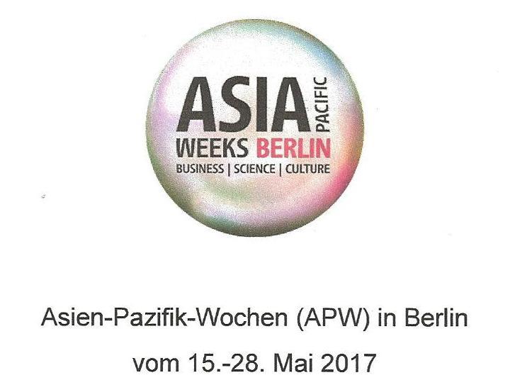 (Hướng dẫn đăng ký) Mời dự tọa đàm nhân Tuần lễ Châu Á - Thái Bình Dương tại Berlin (16.05.2017)