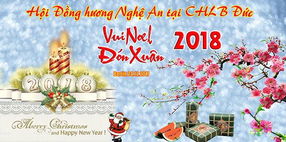 Hội ĐH Nghệ An tại CHLB Đức mời vui Noel và mừng Xuân Năm Mới 2018 (24.12.2017)