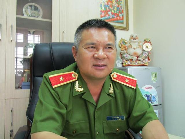 Thiếu tướng Hồ Sỹ Tiến, nguyên Cục trưởng Cục Cảnh sát Điều tra tội phạm về trật tự xã hội (C45). Ảnh: Dân trí