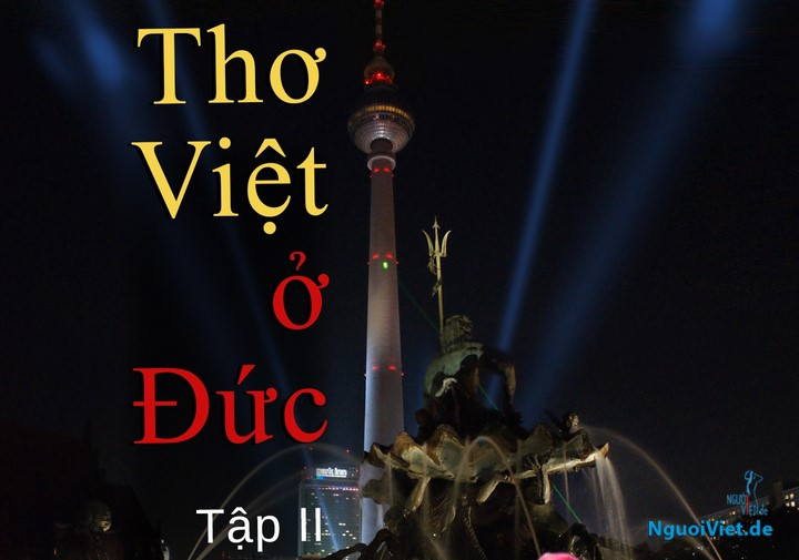 (Trích) Ảnh bìa cuốn Thư mời gửi bản thảo cho Thơ Việt ở Đức –Tập 2