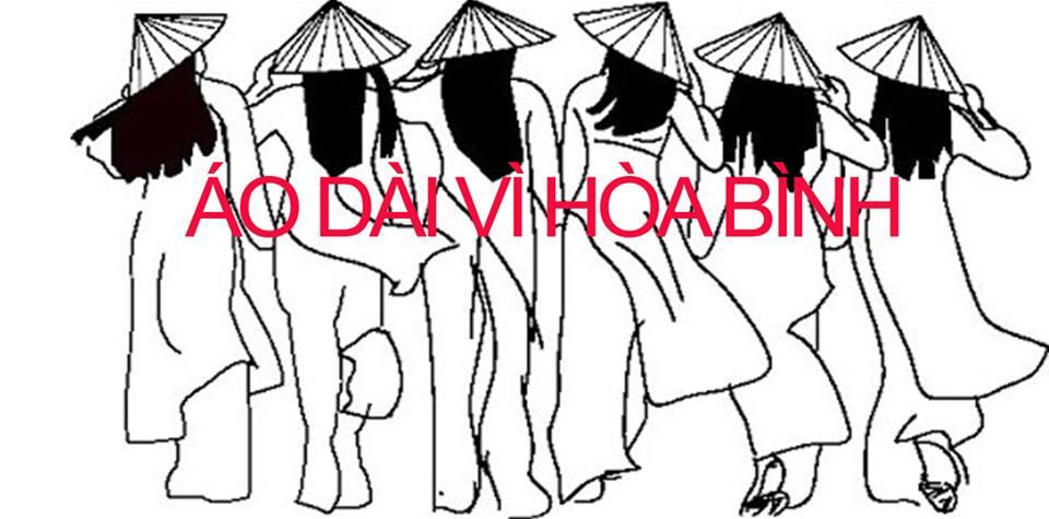 """Lời kêu gọi tham gia cuộc diễu hành """"ÁO DÀI VÌ HÒA BÌNH"""" (18.08.2019)"""