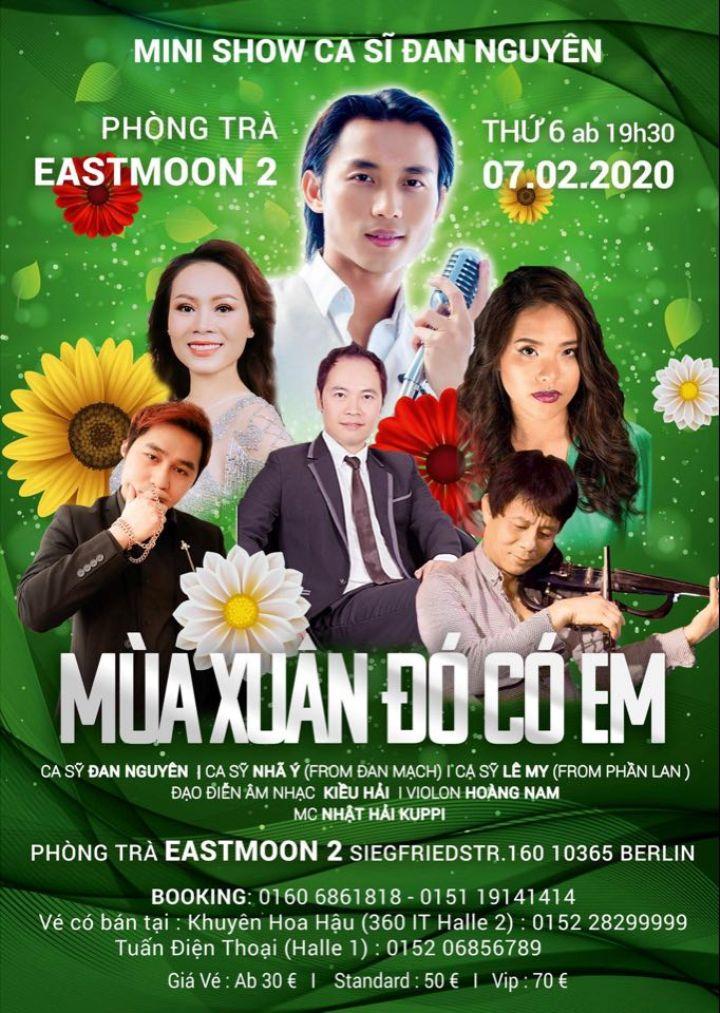 Mini Show Ca sĩ Đan Nguyên tại Berlin (07.02.2020)