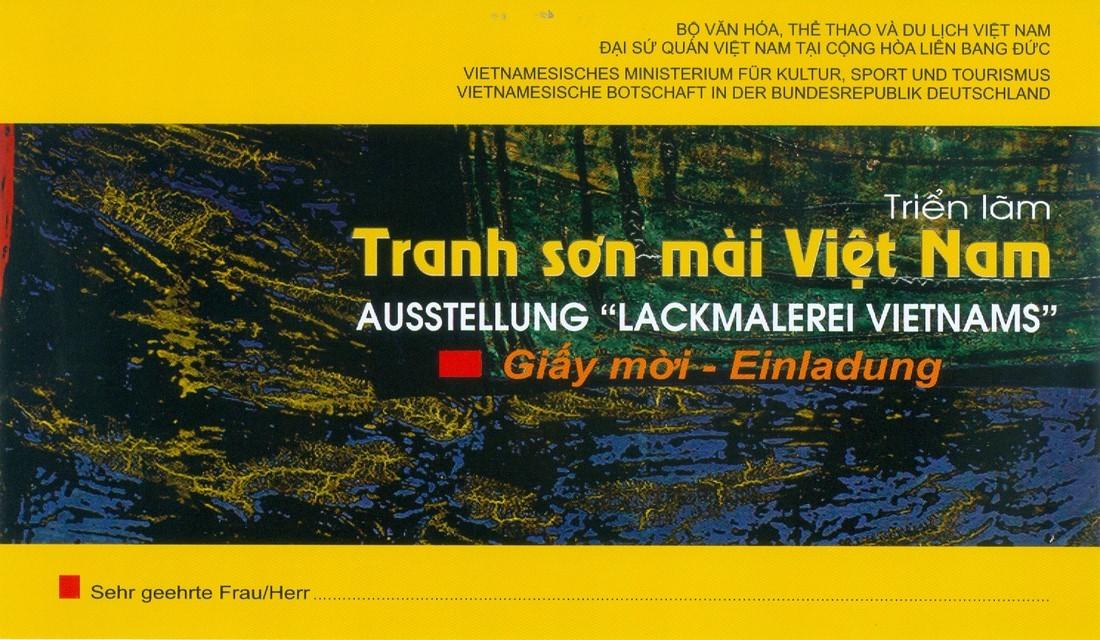 Triển lãm tranh sơn mài Việt Nam tại Berlin (18.-27.11.2016)