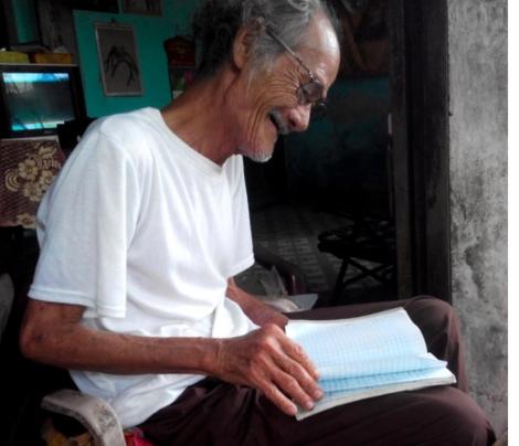 Nhà thơ Trần Vàng Sao - tác giả của thi phẩm 'Bài thơ của một người yêu nước mình' - MTG