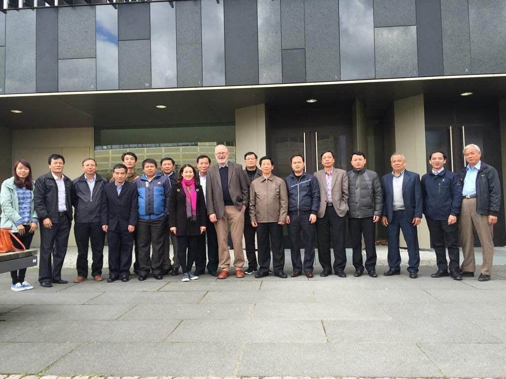 Đoàn cán bộ công chức Việt Nam tại Đại học Potsdam (Đoàn 1), tháng 4.2016