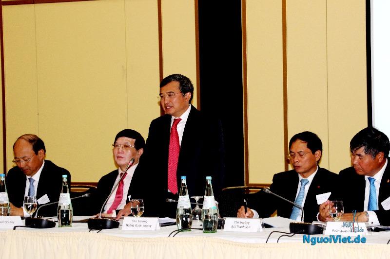 """VTC10: Hội thảo kinh tế """"Quan hệ kinh tế, thương mại Việt Nam - Đức"""""""