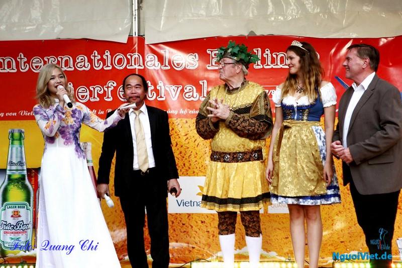 Việt Nam tham dự Liên hoan bia quốc tế lần thứ 20 tại Berlin