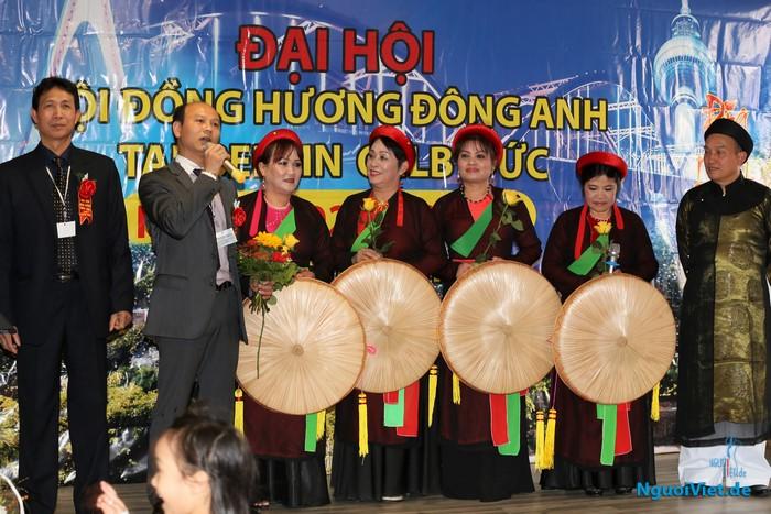 Đại hội HĐH Đông Anh lần thứ VIII. Ảnh: Hương Radeberg