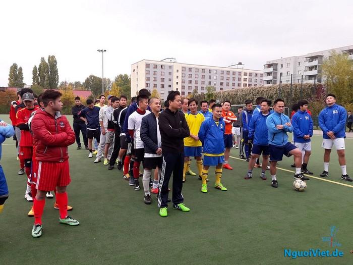 Giải bóng đá người Việt BERLIN – VN FÜCHSE CUP 2016