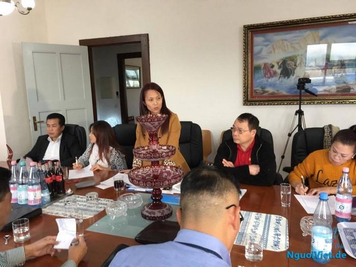 Bà Nguyễn Thị Mai Phương làm trưởng đoàn công tác