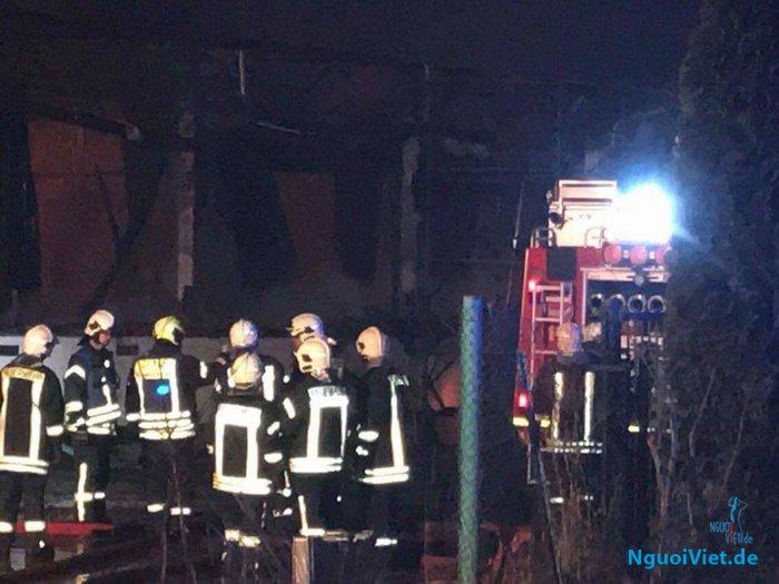 Tin buồn: Hỏa hoạn tại chùa Vạn Phước ở Greifswald (CHLB Đức)