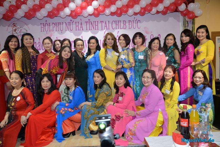 Hội Phụ nữ Hà Tĩnh tại CHLB Đức kỷ niệm Ngày Quốc tế Phụ nữ 2017