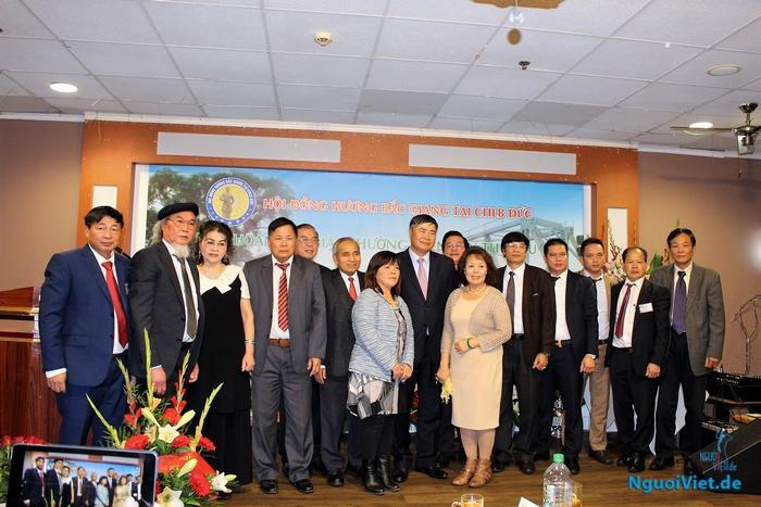 Buổi gặp mặt lần thứ 6 HĐH Bắc Giang tại CHLB Đức, ngày 29.10.2017 tại Quê Hương quán trong TTTM Thái Bình Duong. Ảnh: Hà An