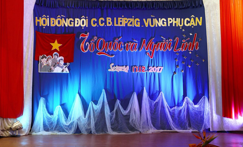 Hội cựu chiến binh Leipzig kỷ niệm ngày thành lập QĐND Việt Nam